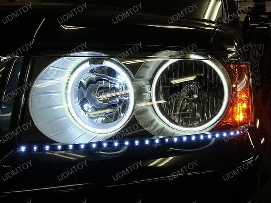 Audi - style - side - shine - flexible - LED - strip - lights - 3